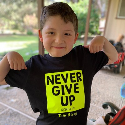 Kalel Hamilton, 8-years-old, is diagnosed with Duchenne muscular dystrophy and is seeking an experimental gene therapy treatment that could potentially save his life. (Photo Courtesy of Rick Hamilton)