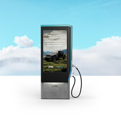 Jeep 4xe Sunny Weather Campaign on Volta Charging Stations