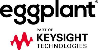 Eggplant, part of Keysight Technologies logo