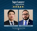 Dominguez Firm Attorneys Carlos Perez and Jace Kim Named Super Lawyers® Rising Stars for 2021