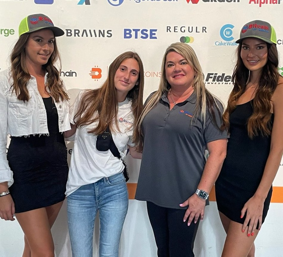 Bitcoin of America's Female Team at Bitcoin 2021