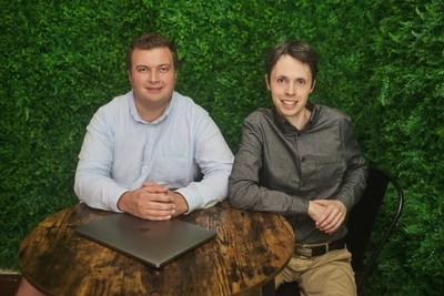 MaintainX founders Chris Turlica (L), CEO, and Hugo Dozios-Caouette, CTO.