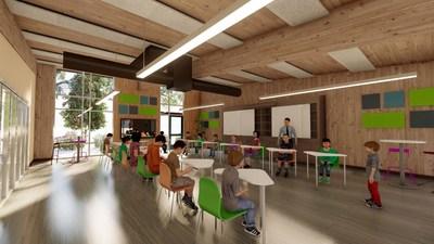 TimberQuest Classroom Interior