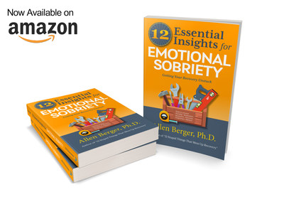 """""""12 Essential Insights for Emotional Sobriety"""" by Allen Berger, Ph.D., is the #1 New Release in 12-Step Programs, available on Amazon at http://bit.ly/12Insights"""