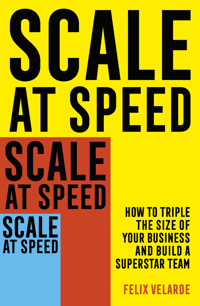 Scale At Speed by Felix Velarde, founder of 2Y3X is a program for growth, scaling and selling your business for what it is really worth.