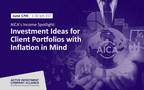The Active Investment Company Alliance (AICA) Announces Their June 17th AICA's Income Spotlight: Investment Ideas for Client Portfolios with Inflation in Mind