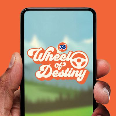 Play Wheel of Destiny on the My 76® App