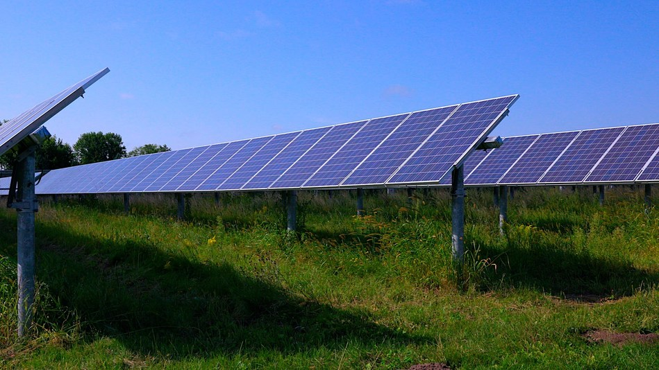 Example solar project