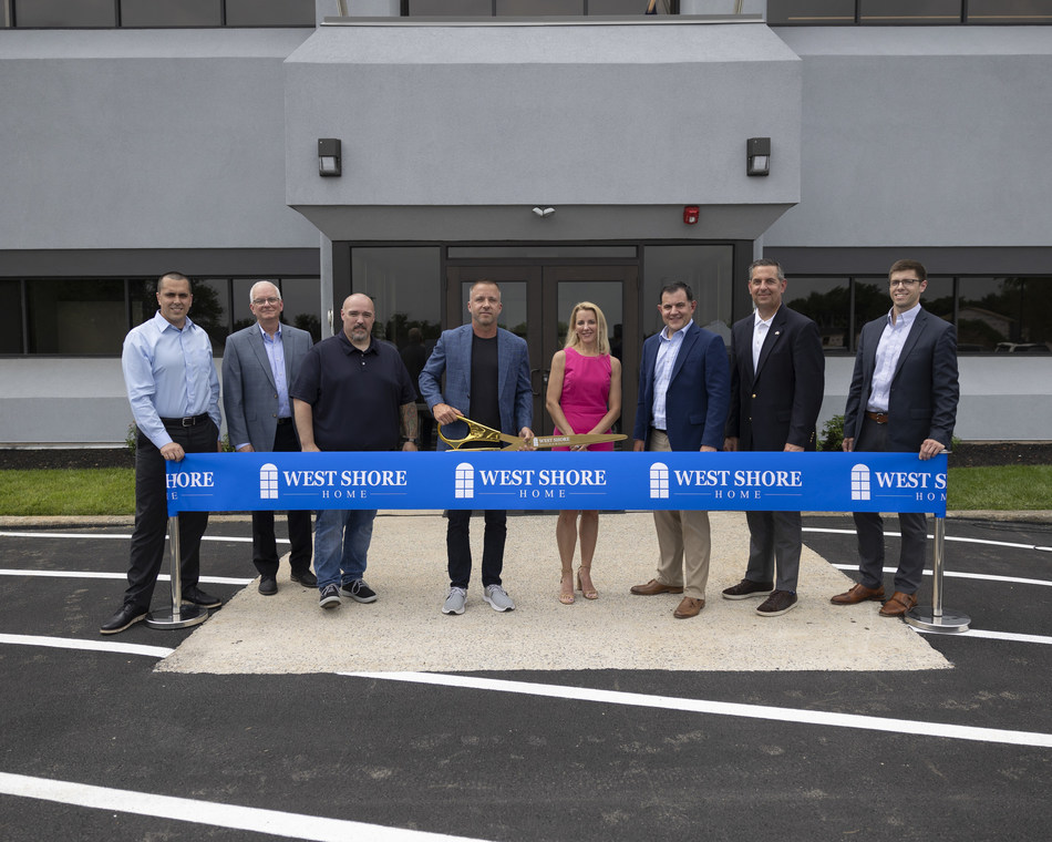 West Shore Home cuts ribbon on new corporate headquarters in Mechanicsburg, PA.