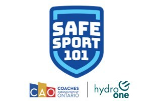 Safe Sport 101 - Presented by the Coaches Association of Ontario & Hydro One Inc. (CNW Group/Coaches Association of Ontario)