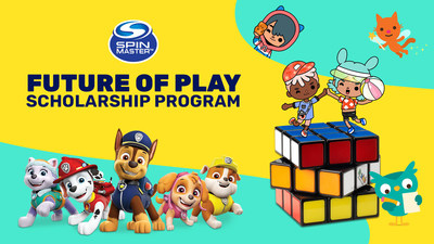 Spin Master Launches The Future of Play Scholarship (CNW Group/Spin Master)