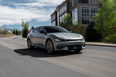 """El programa de vehículos completamente eléctricos EV6 """"First Edition"""" de Kia America está reservado en su totalidad. (PRNewsfoto/Kia America)"""