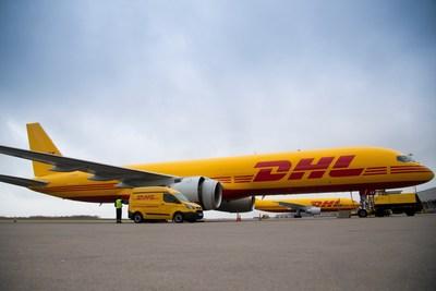 DHL Boeing B757 (PRNewsfoto/DHL)