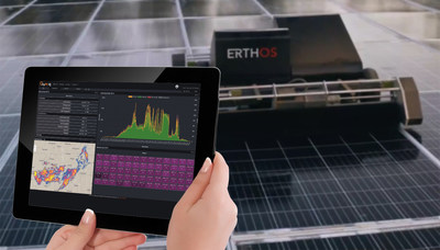 Leveraging in-house capabilities to design and deliver tailored hardware and software solutions, Solar-Ops has provided a complete monitoring and control platform to meet ERTHOS' unique requirements.