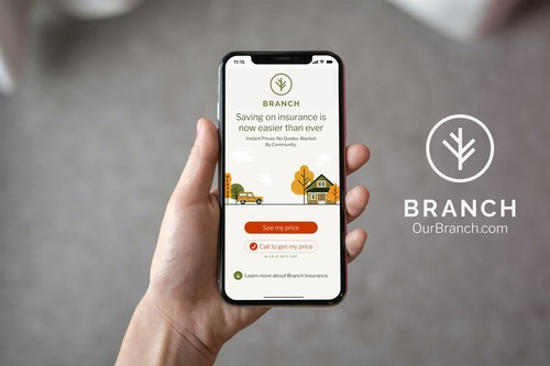 By leveraging the dual powers of community and technology, Branch is making it quicker and easier than ever to get home and auto insurance.