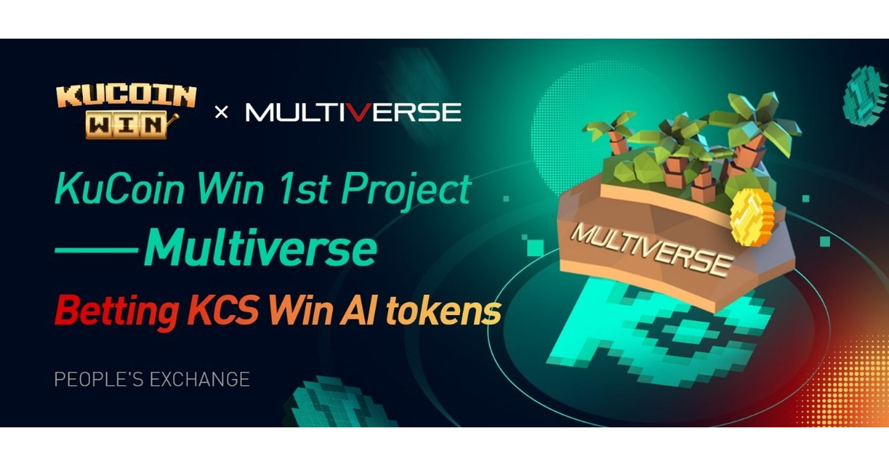 Multiverse Token (AI) To Be Launched on KuCoin Win, Introducing Gaming to Token Initial Distribution