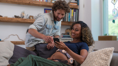 Remote pregnancy monitoring with INVU by Nuvo