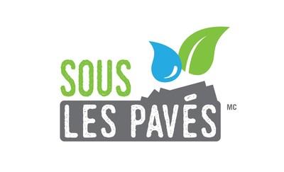 Logo du projet Sous les pavés (Groupe CNW/Centre d'écologie urbaine de Montréal)