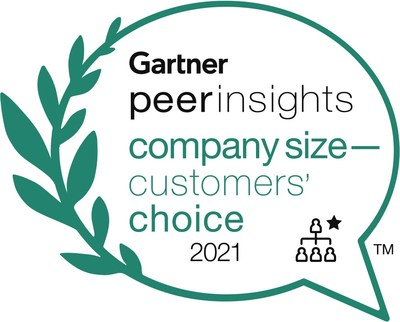 ADP receives Customers' Choice category distinction in Midsize Enterprises.