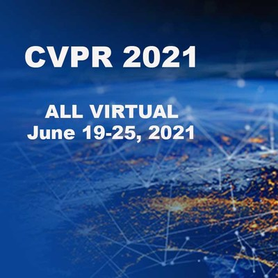 The Computer Vision and Pattern Recognition (CVPR) conference—the largest event exploring artificial intelligence, machine learning, and computer vision research and applications—will take place 19-25 June 2021 as an all-virtual event.