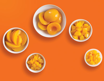 California Cling Peaches-Halves, Slices and Dices