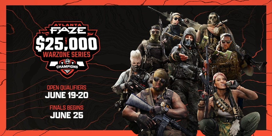 A Poster Highlighting The New $25,000 Warzone Tournament Series