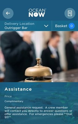 Princess Cruises Unveils New On-Demand Feature that Lets Guests Call a Crew Member to Their Location for Assistance on  MedallionClass® Vacations