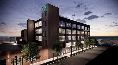 CrossCountry Mortgage, LLC, one of the nation's largest and fastest growing retail mortgage lenders, today officially launched construction of its $46 million corporate campus in Cleveland's historic Superior Arts District. This is an exterior rendering of the future campus. Photo Credit: VOCON.