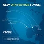 Get ahead of wintertime blues! Alaska Airlines adds new flights...