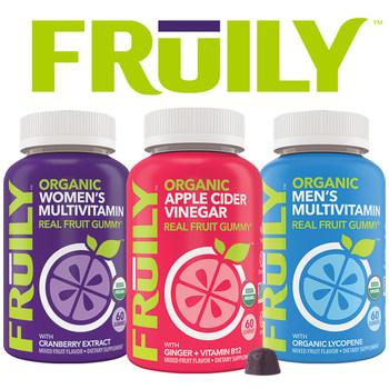 Organic Real Fruit Gummies -- Real Fruit, No Junk