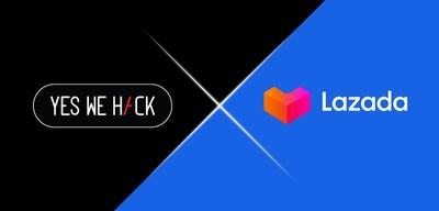 Lazada, la plateforme de commerce électronique en Asie du Sud-Est, lance un programme public de primes de bogues avec YesWeHack (PRNewsfoto/Lazada Group)