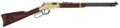 """Henry Repeating Arms created a limited-edition series of 100 Golden Boy """"Pie Keller Memorial"""" Edition .22 rifles to raise funds for the Brooklyn Community Foundation's mission of erecting a memorial in Pie's hometown of Brooklyn, IA."""