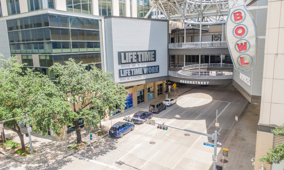 The 62,000-square-foot Life Time athletic club and nearly 29,0000-square-foot Life Time Work bring a new lifestyle experience to Midway's mixed-used development