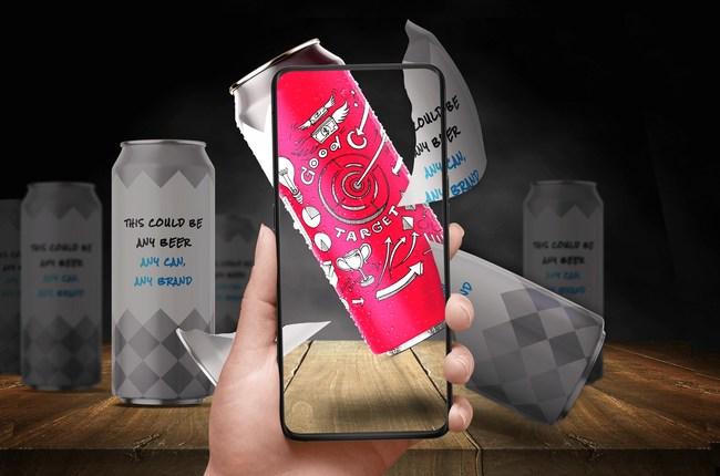 AR Beer App = Beerscans (PRNewsfoto/Third Aurora)