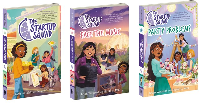 The Startup Squad Book Series
