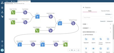 Create multi-stage data prep pipelines with reproducible workflows in Altair SmartWorks