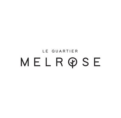 Logo : Le Quartier Melrose (Groupe CNW/Le Quartier Melrose)