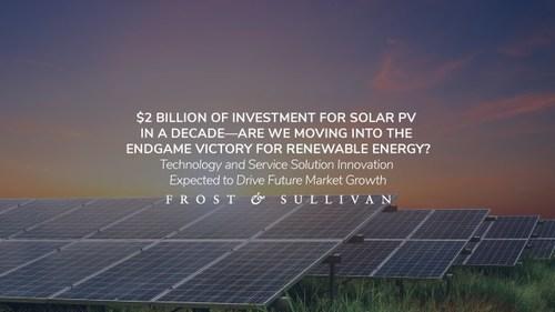 Frost & Sullivan - Solar PVs (PRNewsfoto/Frost & Sullivan)