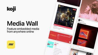 Creator Economy Startup Koji Launches New Link in Bio App: Media Wall