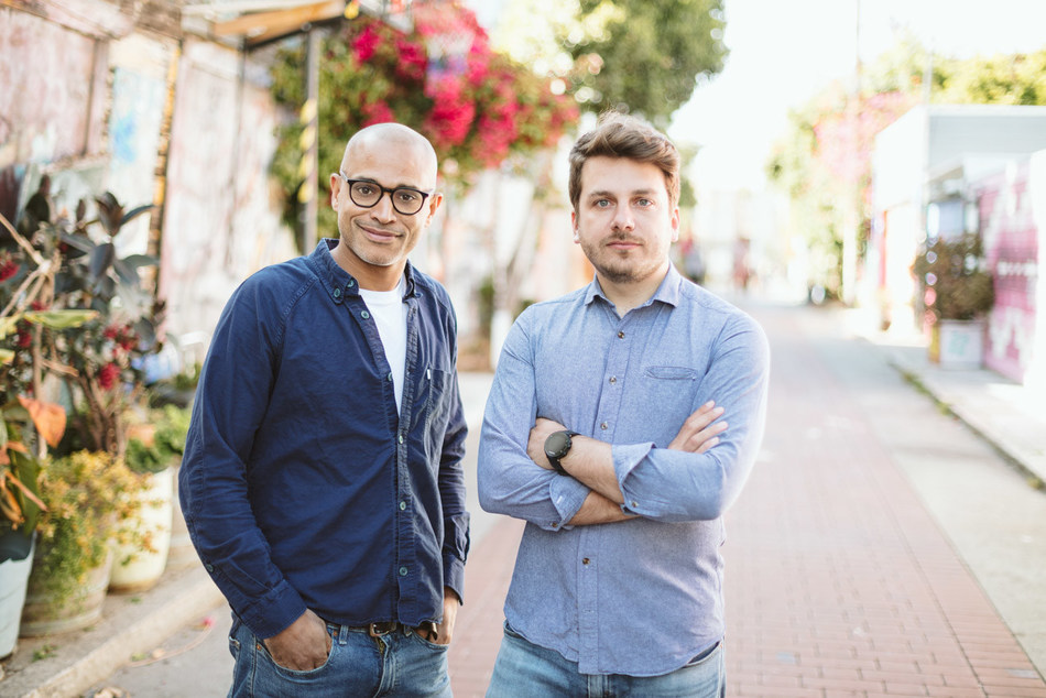 Interlace Ventures Managing Partners Vincent Diallo and Joseph Sartre (PRNewsfoto/Interlace Ventures)