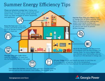 Summer Energy Efficiency Tips