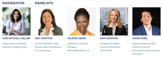 Panelists for Delivering Good's June 16 event.