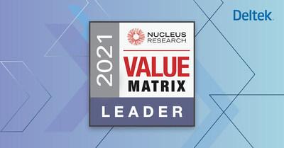 Nucleus Research names Deltek a Leader in the 2021 ERP Value Matrix