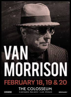 Van Morrison Announces 2022 Las Vegas Run at The Colosseum at Caesars Palace