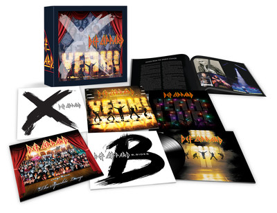 DEF LEPPARD RELEASE LIMITED EDITION BOX SET 'DEF LEPPARD - VOLUME THREE' TODAY- AVAILABLE NOW!</p> <p>JOE ELLIOTT, PHIL COLLEN & VIVIAN CAMPBELL OF DEF LEPPARD TO HOST AN EVENT ON TWITTER SPACES WITH MATT PINFIELD AT 10AM PT TODAY!