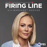 """""""Firing Line"""" podcast logo."""