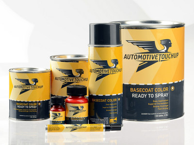 AutomotiveTouchup offers custom matched paint in pen, brush-in-bottle, aerosol spray or ready-to-spray in pints, quarts and gallons.