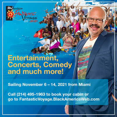 Tom Joyner's Fantastic Voyage sets sail On November 6-14, 2021 with headliners Usher and Alicia Keys. It's the Ultimate Party With A Purpose, supporting students from Historically Black Colleges and Universities (HBCUs).