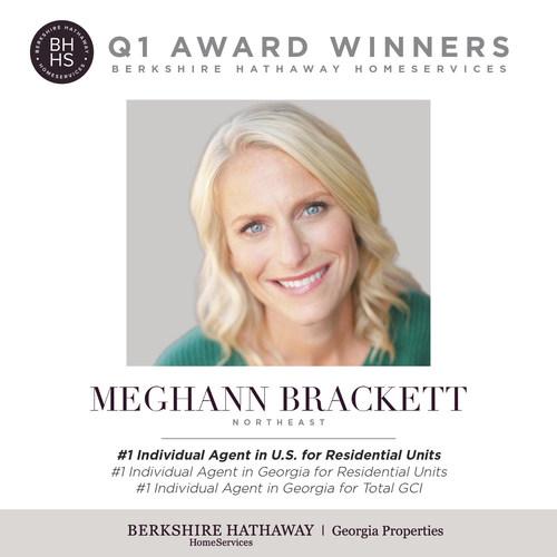 Congratulations to top sales associate, Meghann Brackett.