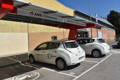 Nuvve V2G installation in the Barcelona Municipal Area